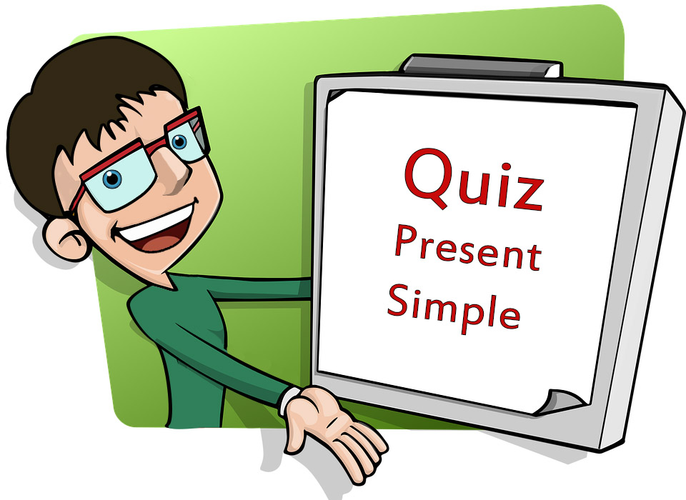 Quiz wiedzy z Present Simple